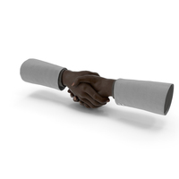 Hand Shake Suit PNG & PSD Images
