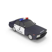 Cartoon Police Car PNG & PSD Images