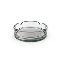 Glass Ashtray PNG & PSD Images