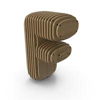 Wood Symbol F PNG & PSD Images