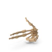 Skeletal Gun Sign PNG & PSD Images