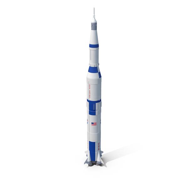 NASA Saturn V Rocket PNG & PSD Images