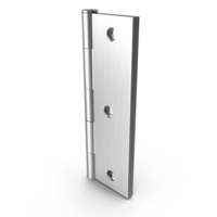 Steel Hinge Closed PNG & PSD Images
