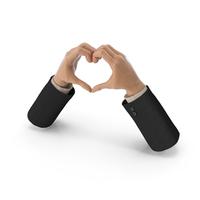 Heart Shape Hands Suit PNG & PSD Images