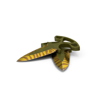 CS:GO Shadow Daggers Tiger Tooth PNG & PSD Images