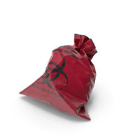 Garbage Bag Red PNG & PSD Images