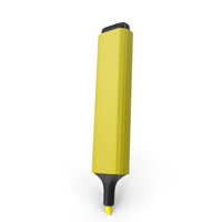 Highlight Marker Yellow PNG & PSD Images