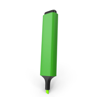 Highlight Marker Green PNG & PSD Images