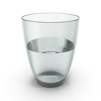 Glass Half Full With Water PNG & PSD Images
