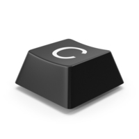 Keyboard Button C PNG & PSD Images