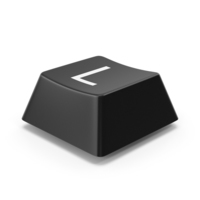Keyboard Button L PNG & PSD Images