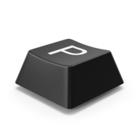 Keyboard Button P PNG & PSD Images