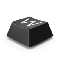 Keyboard Button W PNG & PSD Images