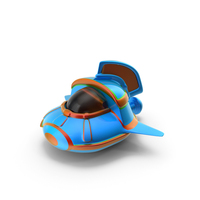 Cartoon Spacecraft PNG & PSD Images