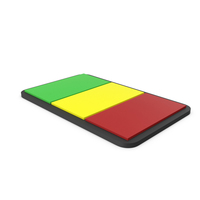 Flag of Mali PVC Patch PNG & PSD Images