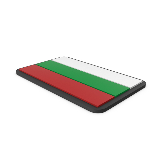 Flag of Bulgaria PVC Patch PNG & PSD Images