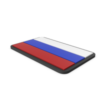 Flag of Russia PVC Patch PNG & PSD Images