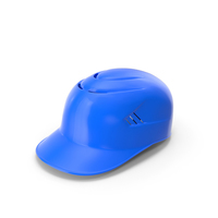 Baseball Catchers Helmet with Padding Blue PNG & PSD Images