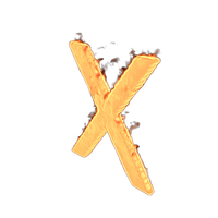 Fire Letter X PNG & PSD Images