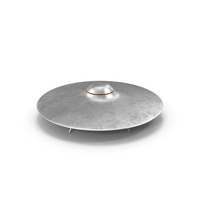UFO with Landing Gear PNG & PSD Images