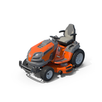 Husqvarna Garden Tractor Grass Mower PNG & PSD Images
