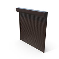 Roller Shutter Brown Close PNG & PSD Images