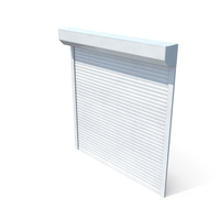 Roller Shutter White Close PNG & PSD Images