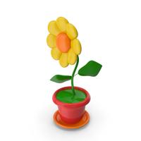 Cartoon Flower PNG & PSD Images