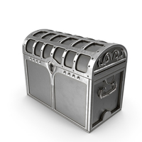 Silver Chest Locked PNG & PSD Images