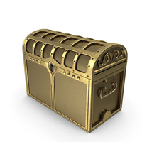 Golden Chest Locked PNG & PSD Images