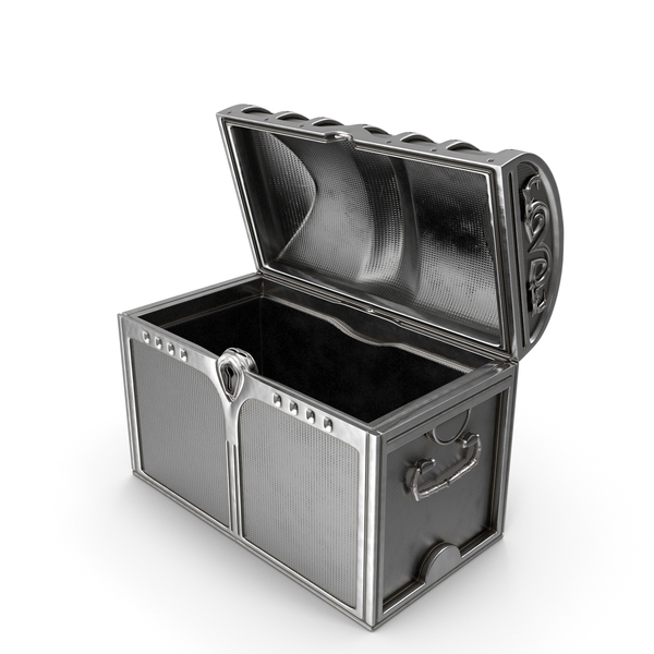 Silver Chest Open PNG & PSD Images