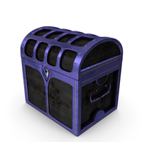 Small Magical Chest Locked PNG & PSD Images