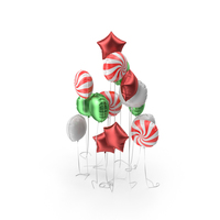 Assorted Balloon Set PNG & PSD Images