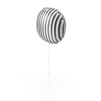 Striped Balloon PNG & PSD Images