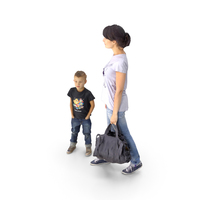 Woman and Kid PNG & PSD Images
