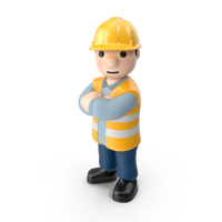 Worker Crossed Arms PNG & PSD Images