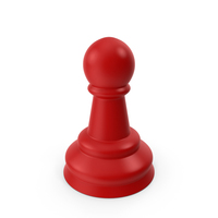 Board Game Chip Red Pawn PNG & PSD Images