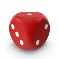 Red Dice Rounded PNG & PSD Images