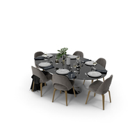 Knoll Saarinen Oval Dining Table PNG & PSD Images