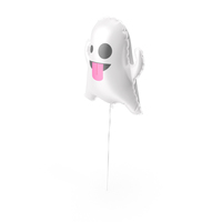 Ghost Halloween Balloon PNG & PSD Images