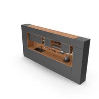 Kitchen Furniture Set Cabinets PNG & PSD Images