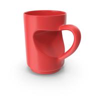 Heart Mug PNG & PSD Images