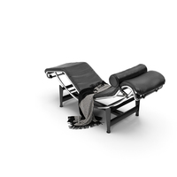 Cassina Lc4 Chaise Longue PNG & PSD Images
