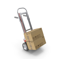 Hand Truck Folded PNG & PSD Images