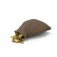 Small Sack of Gold PNG & PSD Images