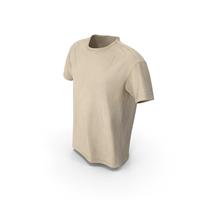T-Shirt Beige PNG & PSD Images