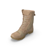 Military Boot Beige PNG & PSD Images