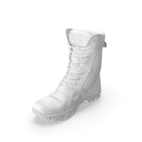 Military Boots White PNG & PSD Images