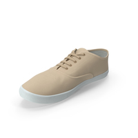 Sport Shoes Beige PNG & PSD Images