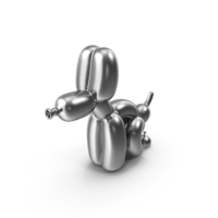 The Silver Pooping Balloon Dog PNG & PSD Images